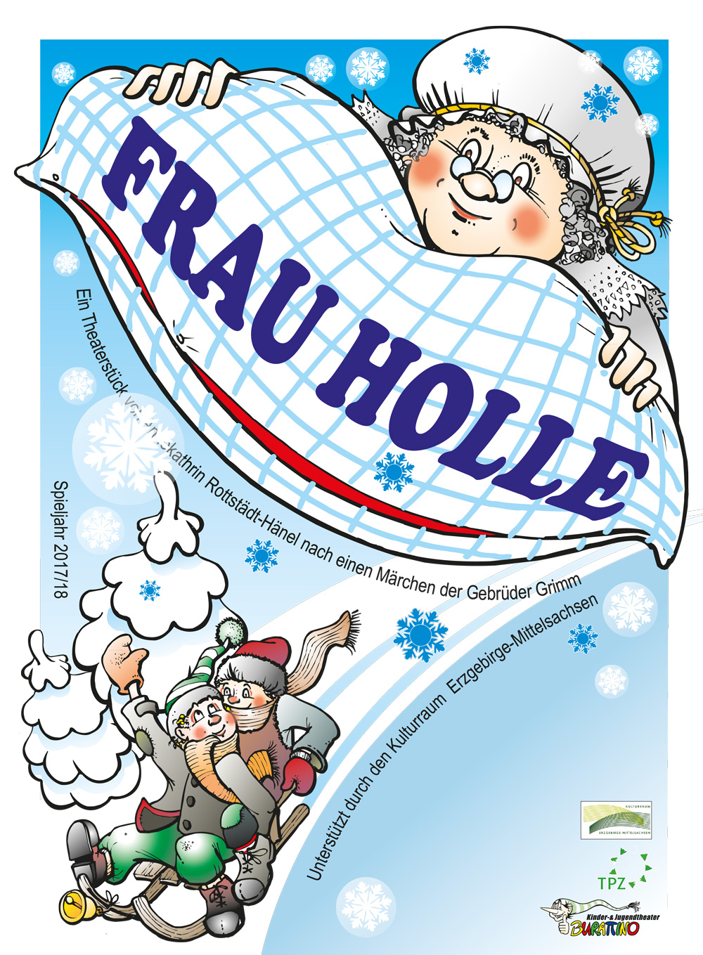 Stadthalle Limbach Oberfrohna Frau Holle Kindertheater