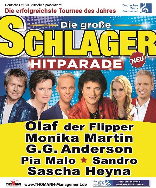 Die große Schlager Hitparade 2017