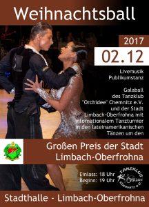Weihnachtsball mit Int. Tanzturnier um den Großen Preis der Stadt Limbach-Oberfrohna