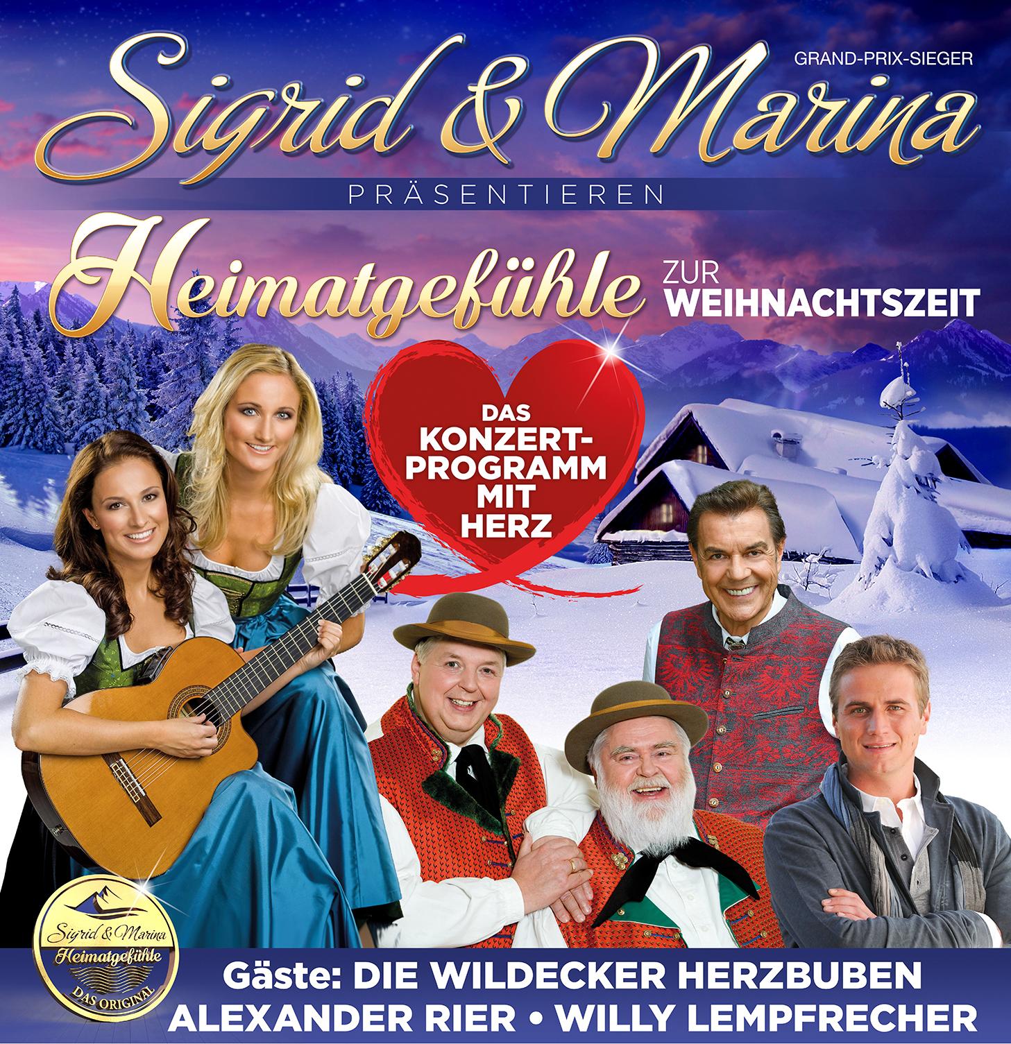 """""""Heimatgefühle zur Weihnachtszeit""""-präsentiert von Sigrid & Marina"""