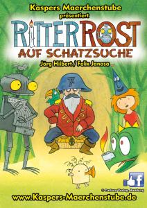 """""""Kaspers Märchenstube"""" & Ritter Rost auf Schatzsuche"""