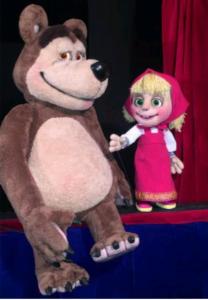Kaspers Märchenstube-Mascha und der Bär