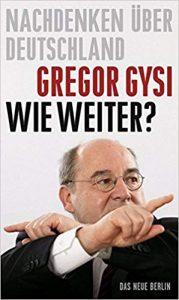 Lesung mit Gregor Gysi