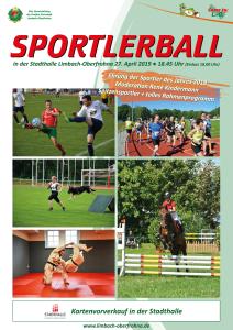 """Sportlerball mit Ehrung """"Sportler/in des Jahres 2018″"""
