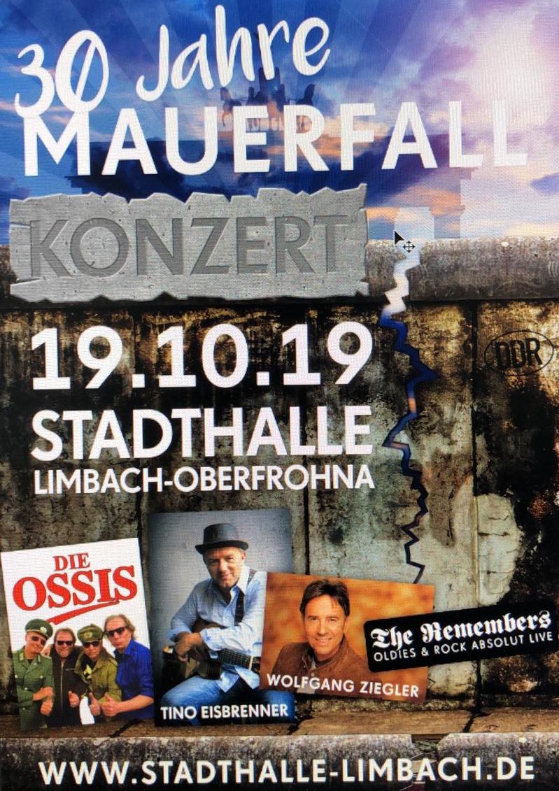 30 Jahre Mauerfall-Konzert