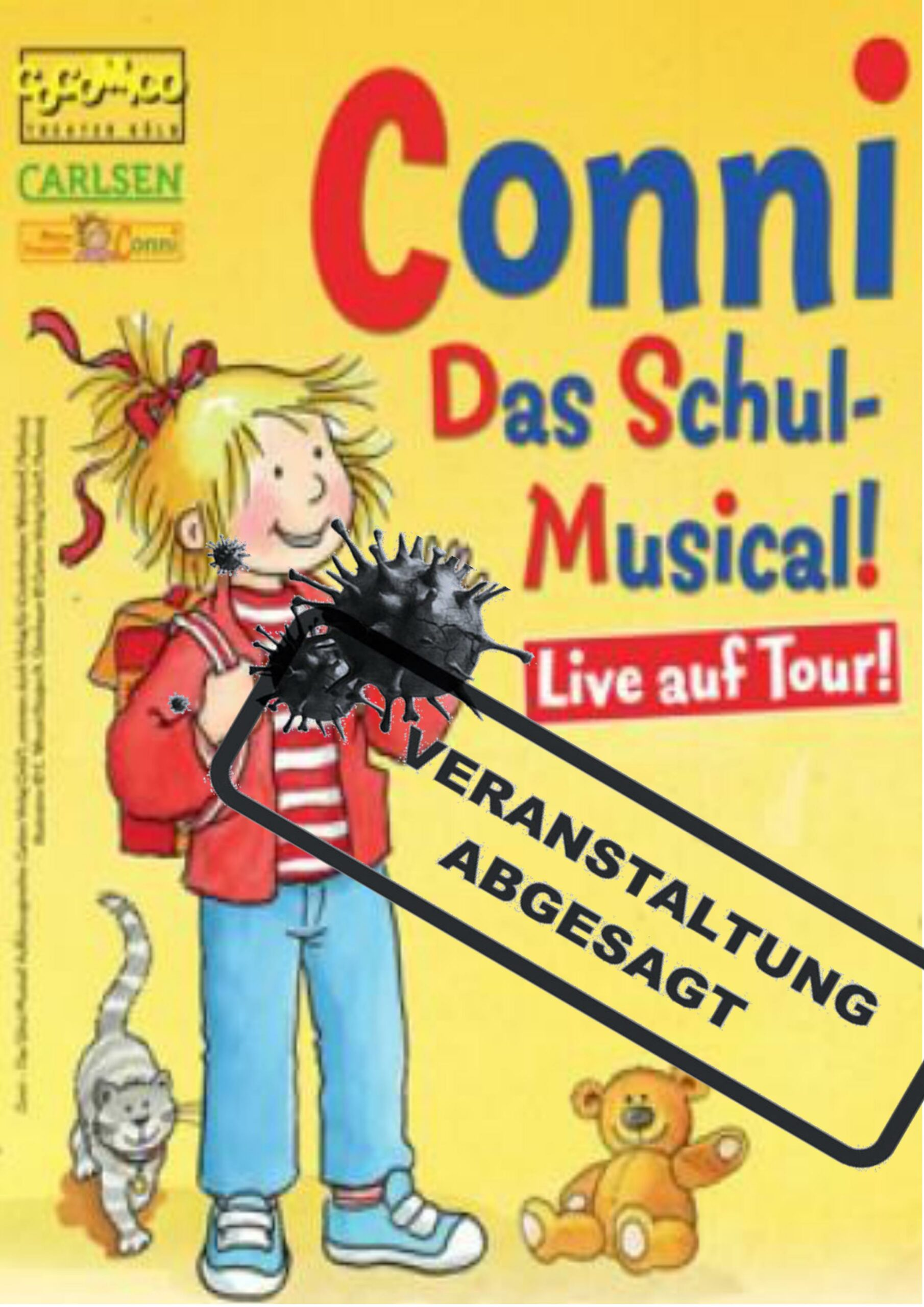 "ABGESAGT:""Conni – Das Schul-Musical!"""