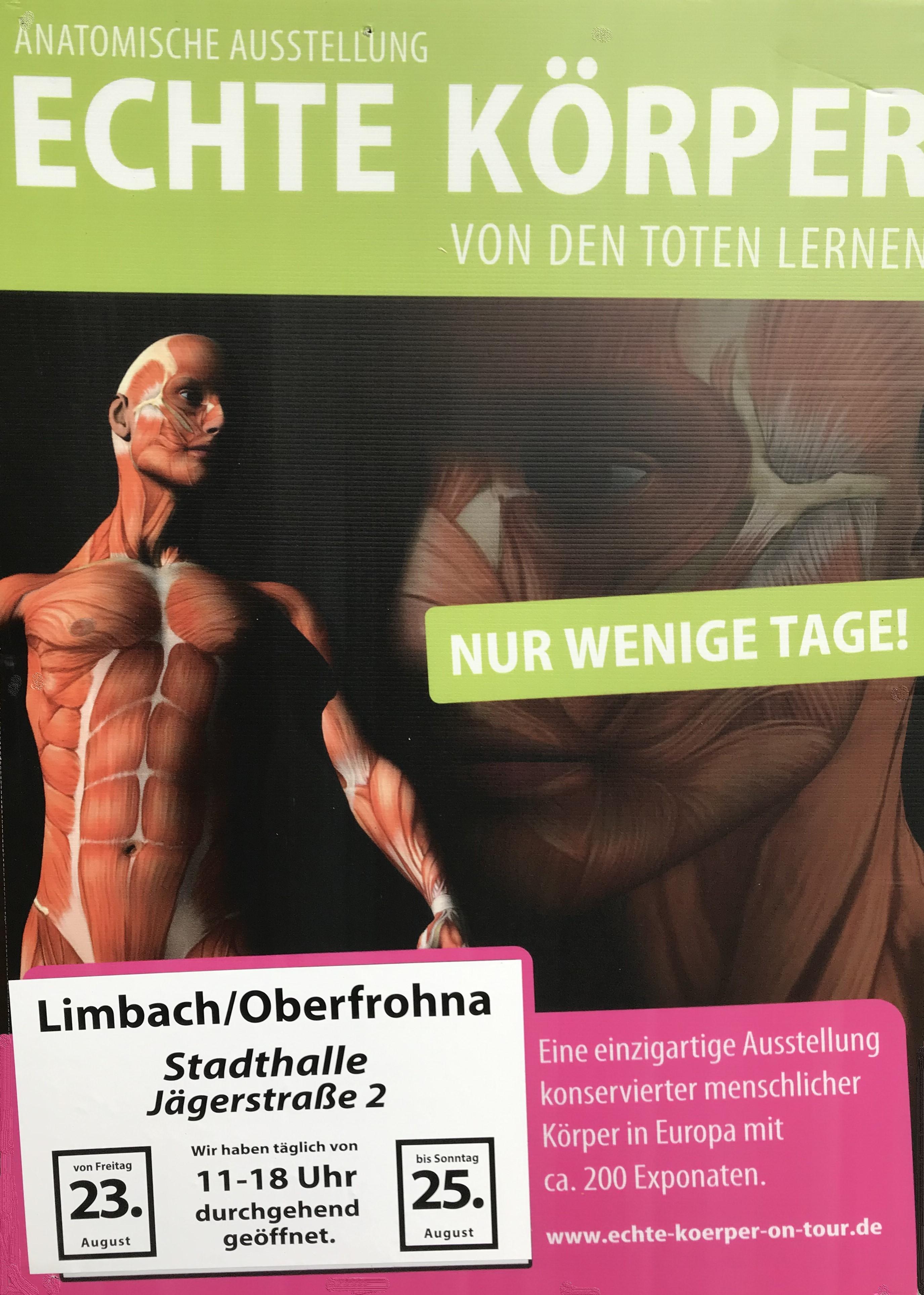 """""""Echte Körper – Von den Toten lernen"""""""