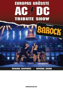 """BAROCK – The AC/DC Tribute Show"""