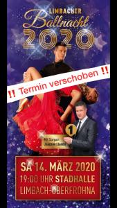 Limbacher Shownachmittag und Ballnacht 2020 – Aufgrund der aktuellen Situation wird die Veranstaltung verlegt.
