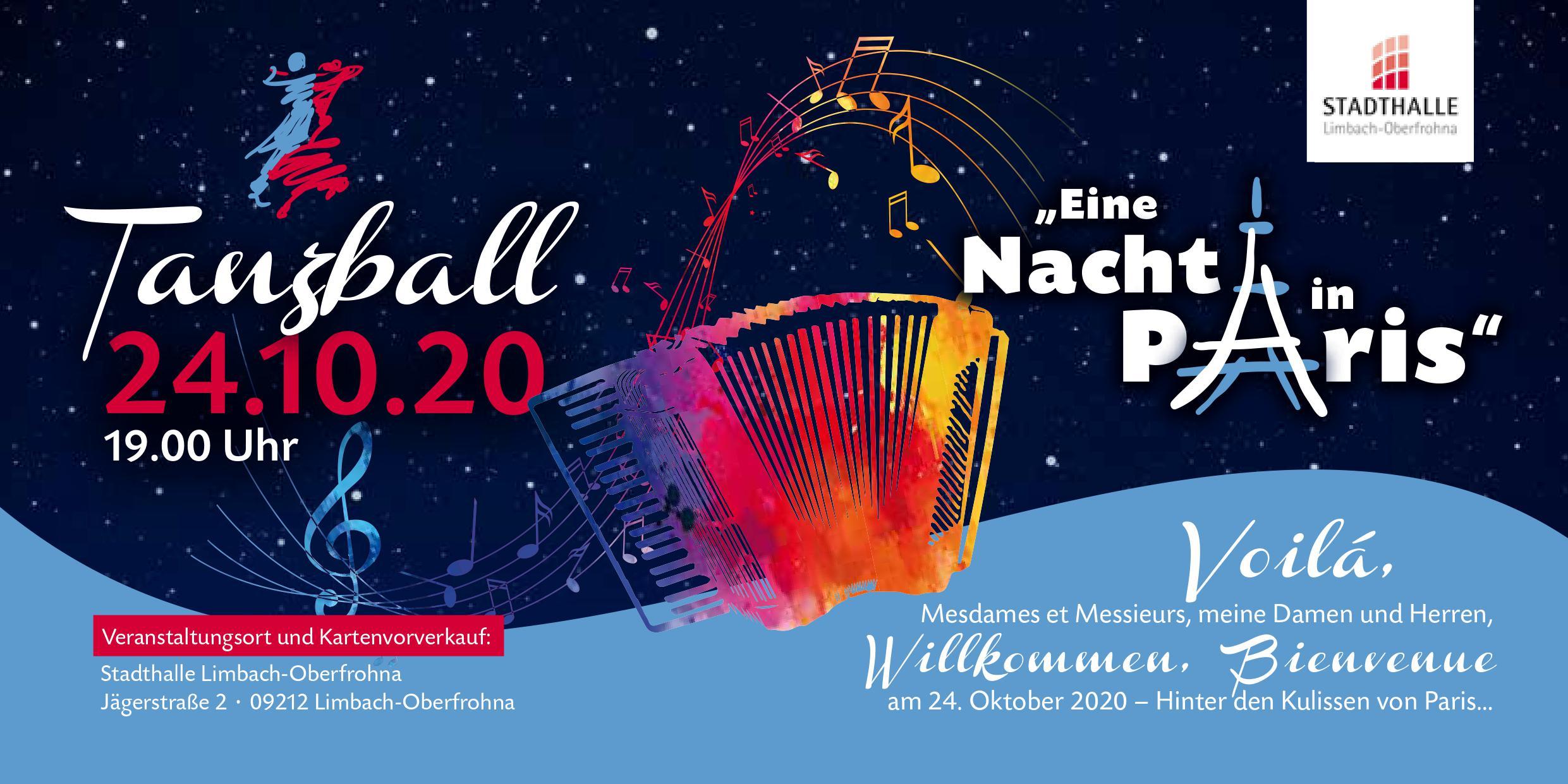 """Tanzball """"Eine Nacht in Paris"""""""