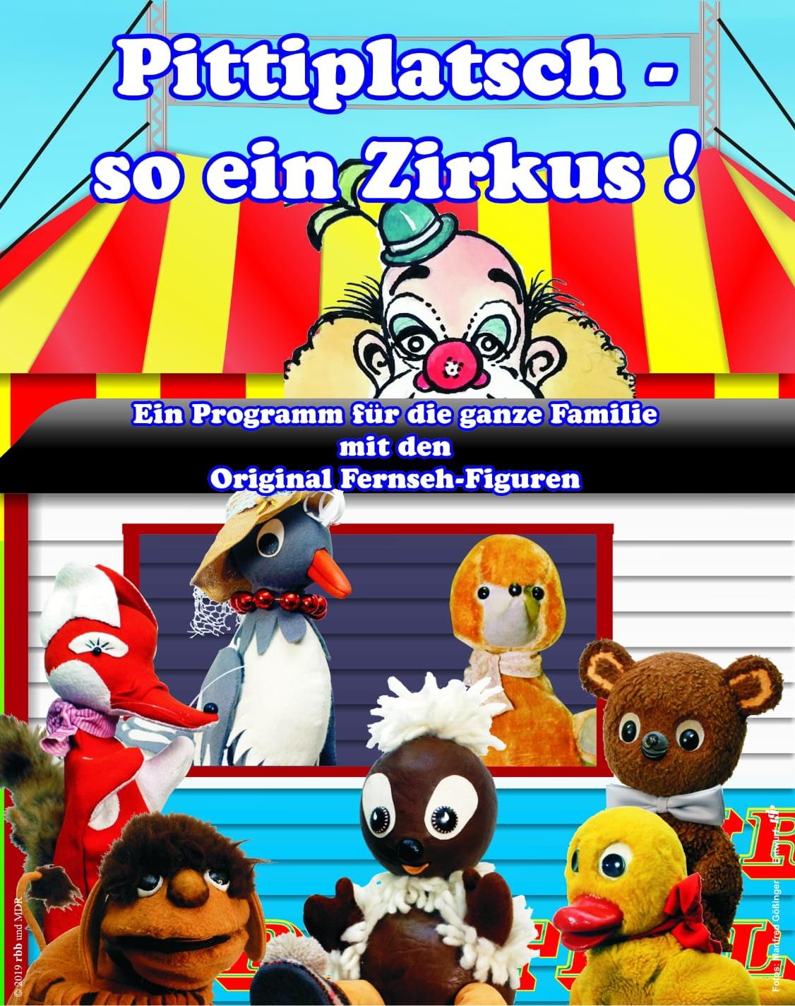 Pittiplatsch und seine Freunde – mit den Original-Fernsehfiguren