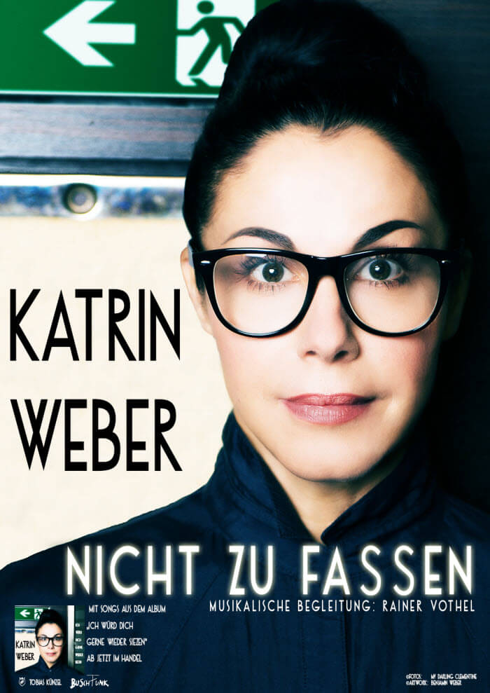 """Katrin Weber """"Nicht zu fassen"""""""