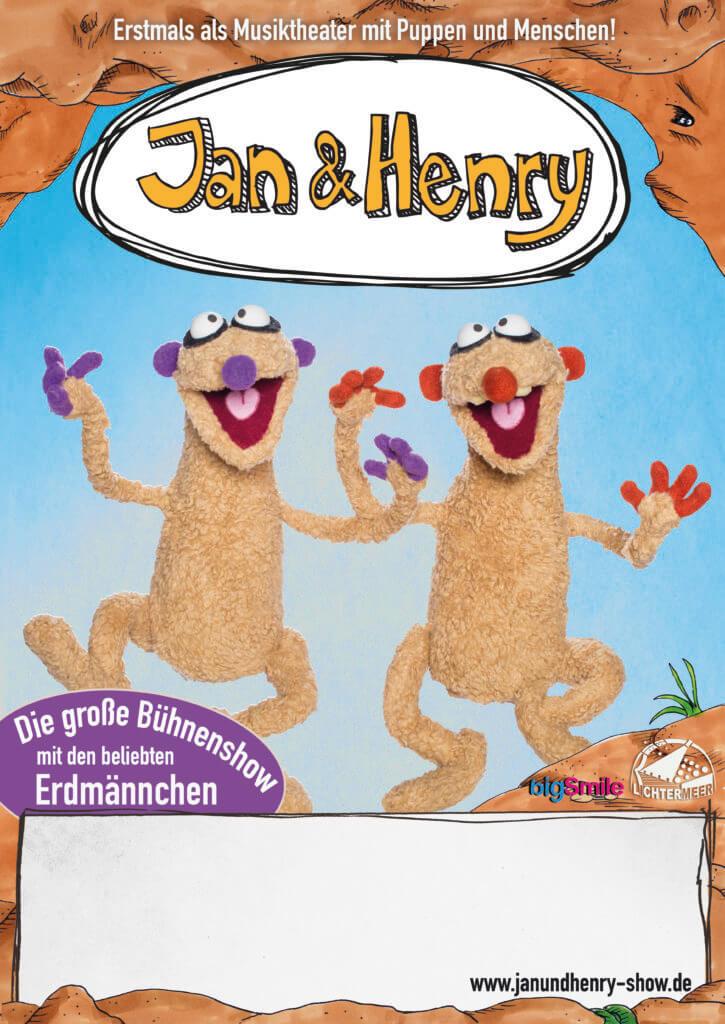 Kindertheater Lichtermeer: Jan und Henry