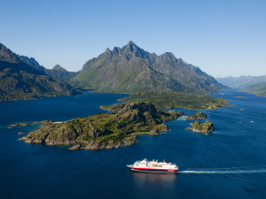 Multivisionsshow: Norwegen per Postschiff