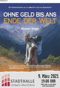 """""""Ohne Geld bis ans Ende der Welt"""" – Lesung mit Michael Wigge"""