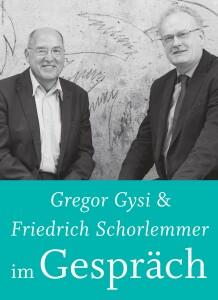 Gregor Gysi & Friedrich Schorlemmer im Gespräch