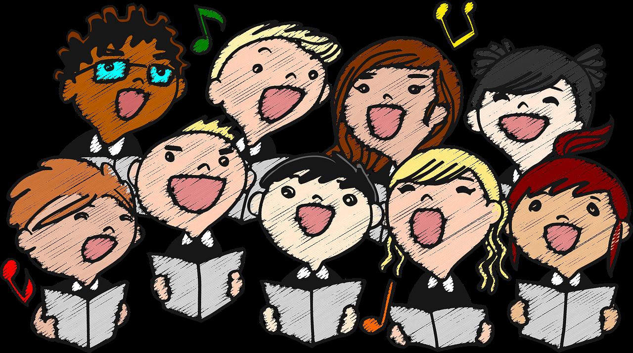 Freies Chorsingen für Jung und Alt unter der Leitung von Werner Haas
